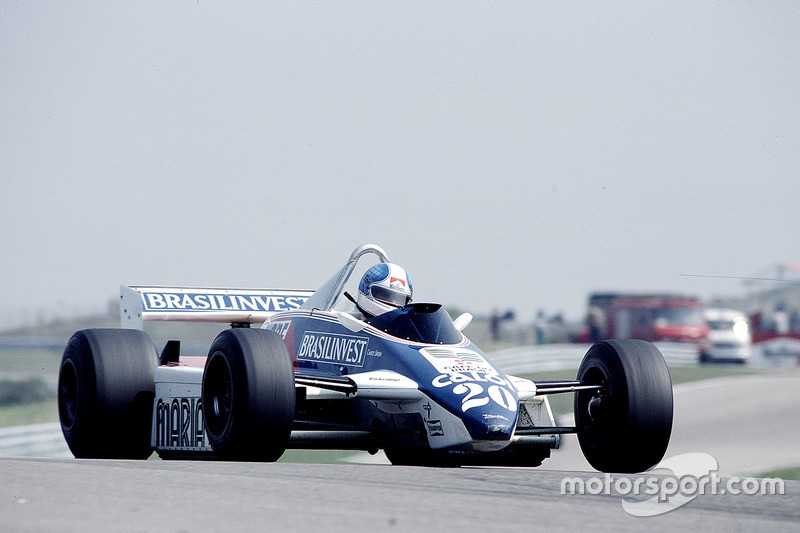 Чіко Серра, Fittipaldi F8D Ford