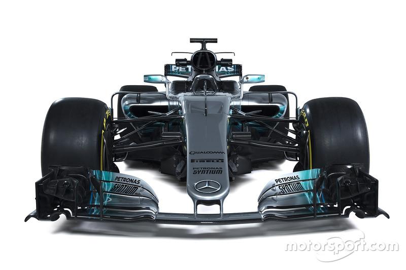 Формула 1 Презентація Mercedes W08