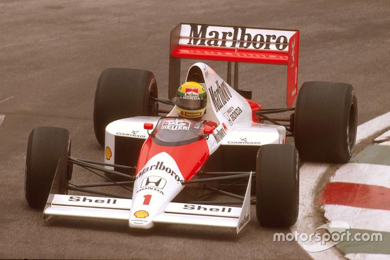 1989: McLaren MP4-5 / Honda RA109A
