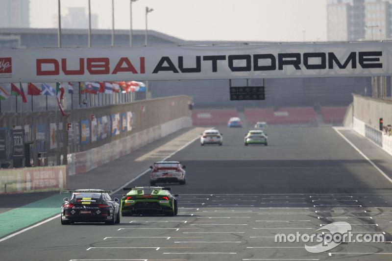 #68 Black Falcon Porsche 991 Cup: Saud Al Faisal, Saeed Al Mouri, Anders Fjordbach, Alexander Toril