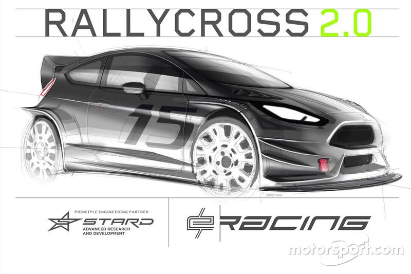 Rally cross e Racing presentation