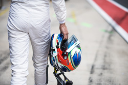 Helmet of Paul Di Resta, Mercedes-AMG Team HWA, Mercedes-AMG C63 DTM