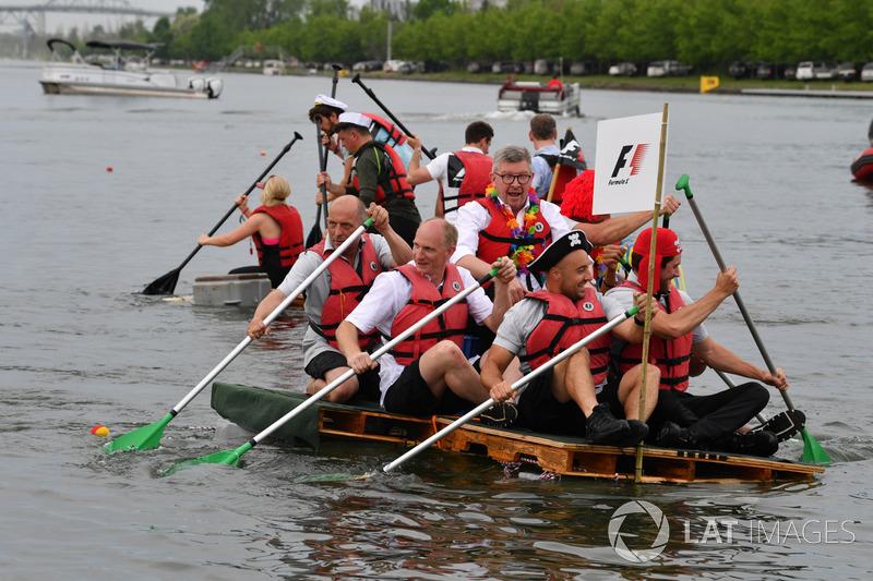 Возрождение традиции гонок на плотах в рамках Гран При Канады