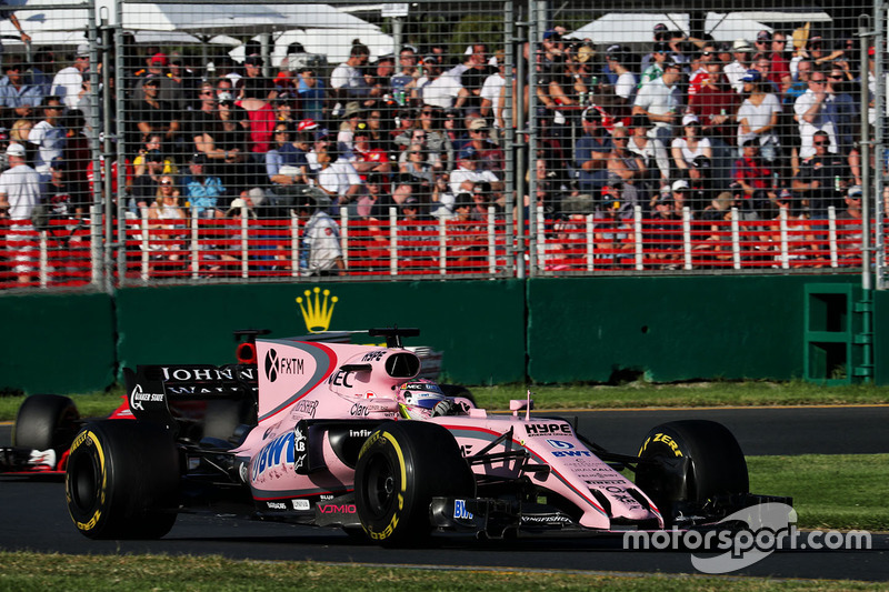10. Esteban Ocon, Sahara Force India F1