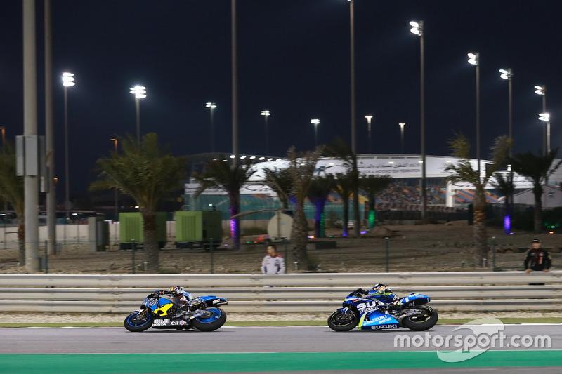Jack Miller, Estrella Galicia 0,0 Marc VDS; Alex Rins, Team Suzuki MotoGP