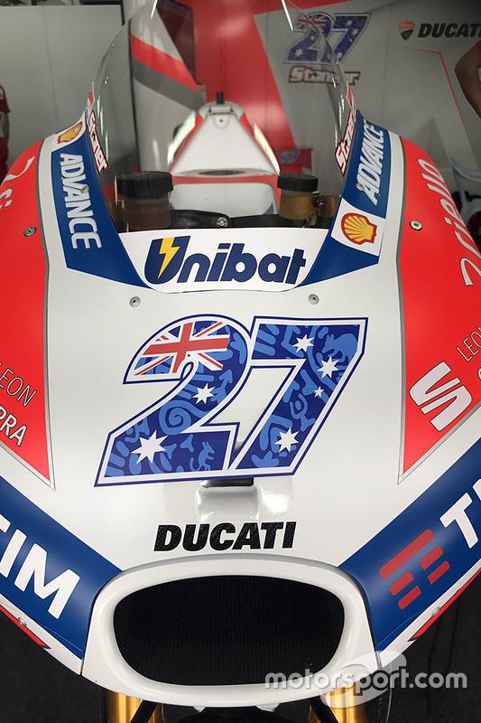 La moto de Casey Stoner, Ducati Team