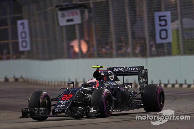 Ausfall: Jenson Button, McLaren Honda MP4-31