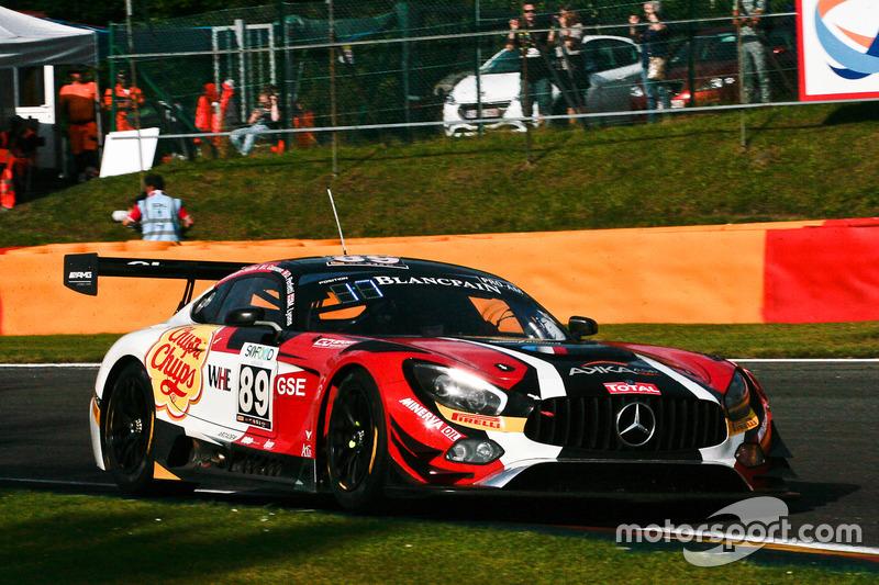 #89 AMG - Team AKKA ASP Mercedes-AMG GT3: Daniele Perfetti, Laurent Cazenave, Michael Lyons, Morgan Moullin Traffort