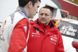 Craig Breen, Citroën DS3 WRC, Abu Dhabi Total World Rally Team with Yves Matton, Citroën Motorsport