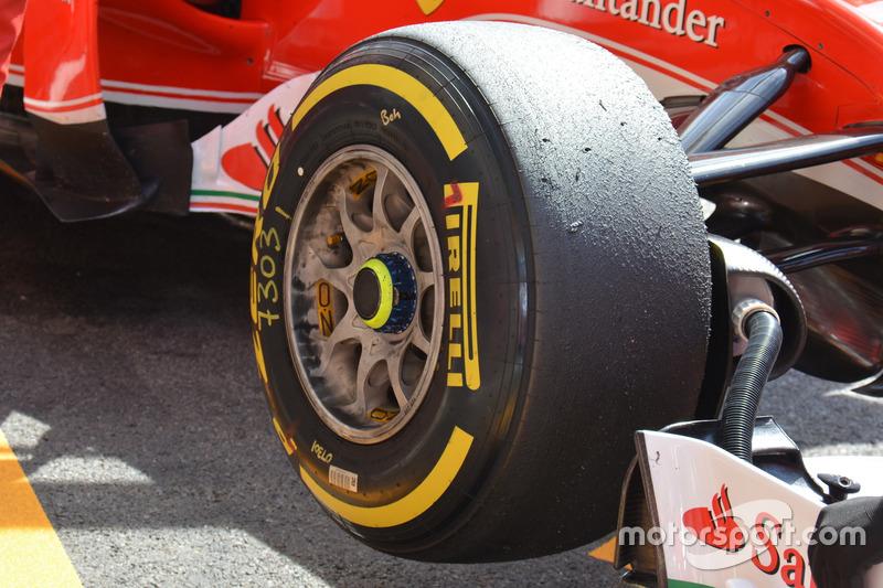 Ferrari SF16-H: Seitenansicht