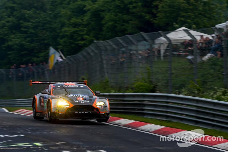 8. #7 Aston Martin Racing, Aston Martin GT3 Vantage