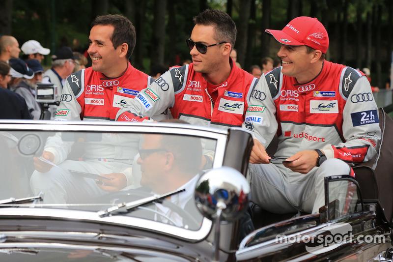 #7 Audi Sport Team Joest Audi R18: Marcel Fassler, Andre Lotterer, Benoit Tréluyer
