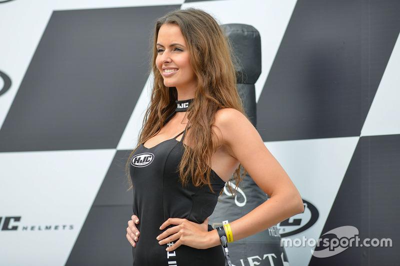 Belleza en el podium