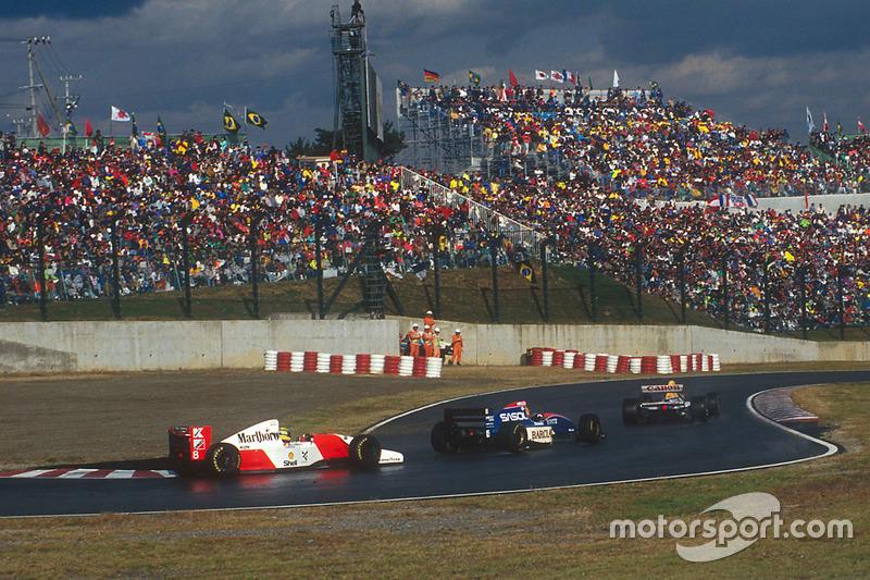 Ayrton Senna vs Eddie Irvine - GP de Japón 1993