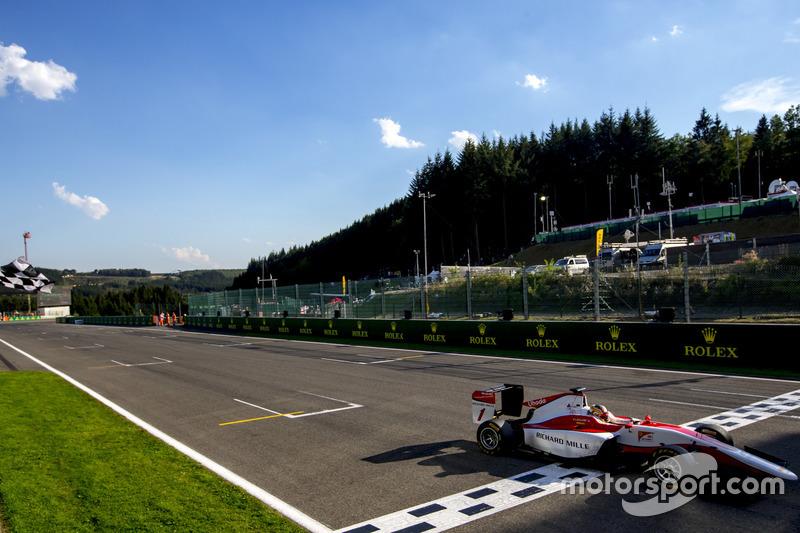 Charles Leclerc, ART Grand Prix takes the win