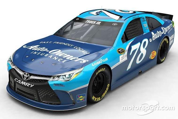 Throwback-Design von Martin Truex Jr., Furniture Row Racing, Toyota