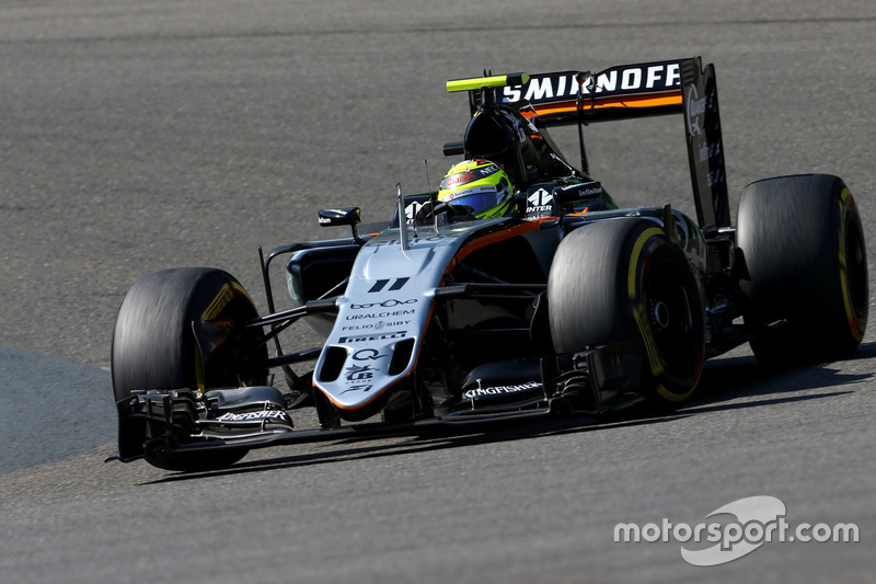 6: Sergio Perez, Sahara Force India F1 VJM09