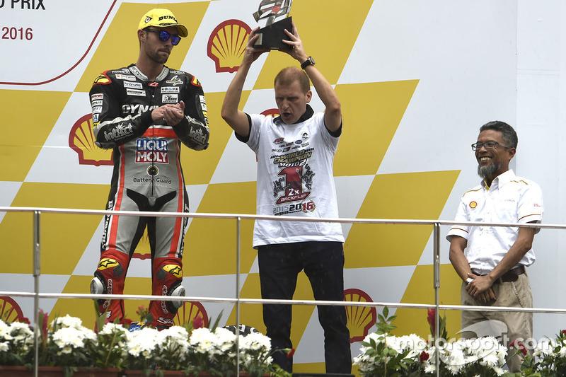Podium: Aki Ajo, Ajo Motorsport, Teamchef
