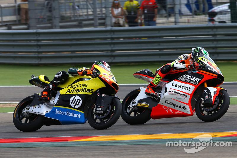 Lorenzo Baldassarri, Forward Racing, Alex Rins, Paginas Amarillas HP 40