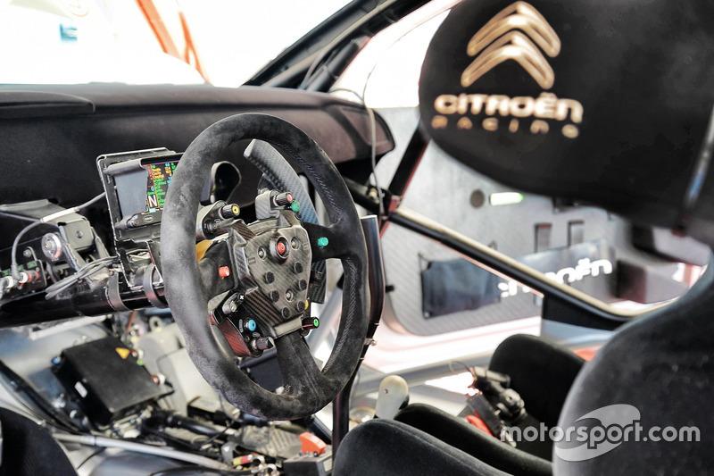مقود سيارة سيتروين دي.أس3 دبليو آر سي