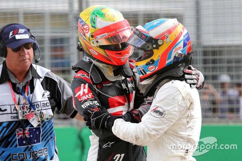 Esteban Gutierrez e Fernando Alonso