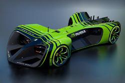 RoboRace NVIDIA livery