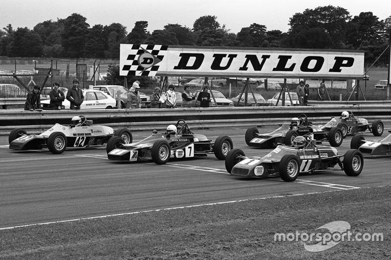 Ayrton Senna, Rick Morris y Alfonso Toledano
