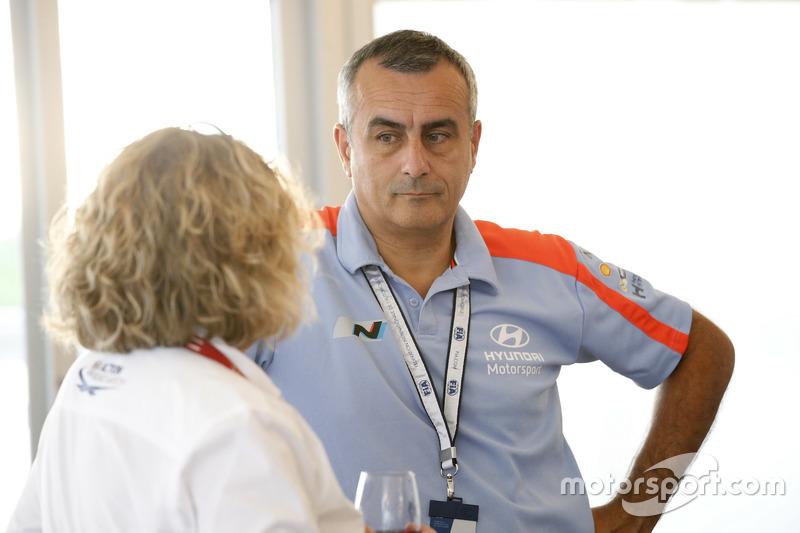 Alain Penasse, Takım Menajeri Hyundai Motorsport