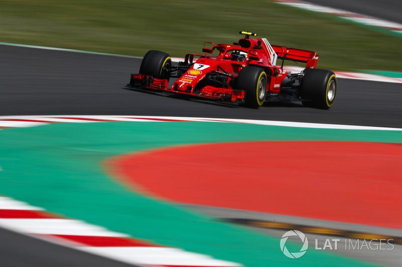 4: Kimi Raikkonen, Ferrari SF71H, 1'16.612