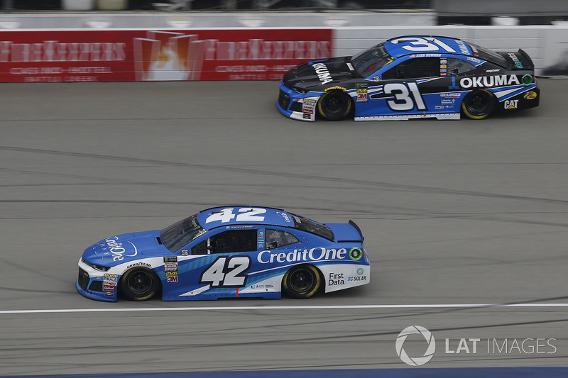 Kyle Larson, Chip Ganassi Racing, Chevrolet Camaro Credit One Bank Ryan Newman, Richard Childress Racing