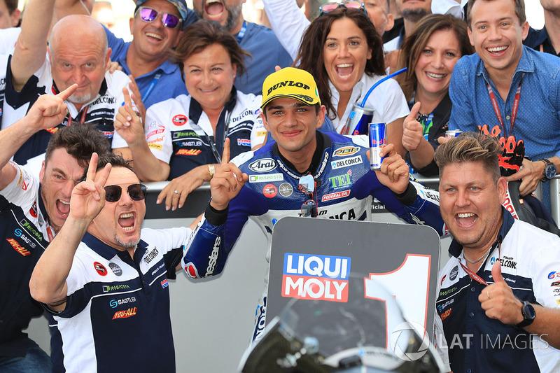 Ganador de carrera Jorge Martin, Del Conca Gresini Racing Moto3