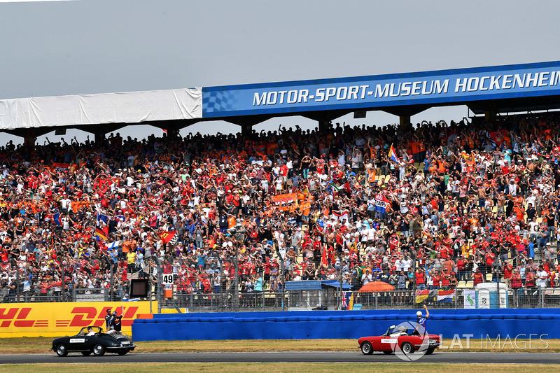 Parade pembalap F1