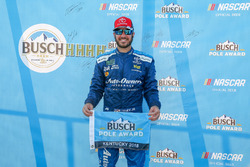 Polesitter Martin Truex Jr., Furniture Row Racing, Toyota Camry Auto-Owners Insurance