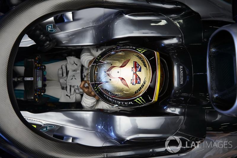 GP Inggris Raya - Lewis Hamilton