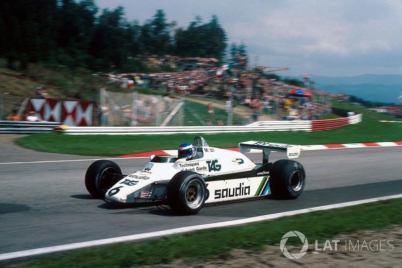 Keke Rosberg, Williams FW08