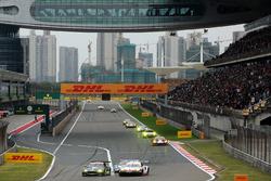 #95 Aston Martin Racing Aston Martin Vantage: Nicki Thiim, Marco Sorensen, #92 Porsche GT Team Porsche 911 RSR: Michael Christensen, Kevin Estre