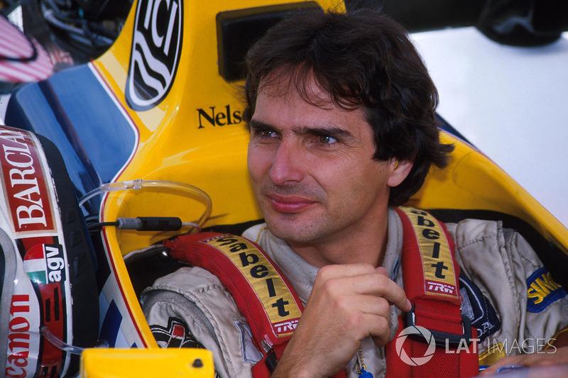 Piquet começou mal a temporada. Nos treinos para o GP de San Marino, ele bateu na Tamburello (curiosamente no dia 1º de maio de 1987) após um pneu furar. Com uma concussão, ele foi vetado da corrida.