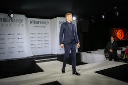 Sergey Sirotkin, Renault Sport F1 Team Test Driver at Amber Lounge Fasion Show