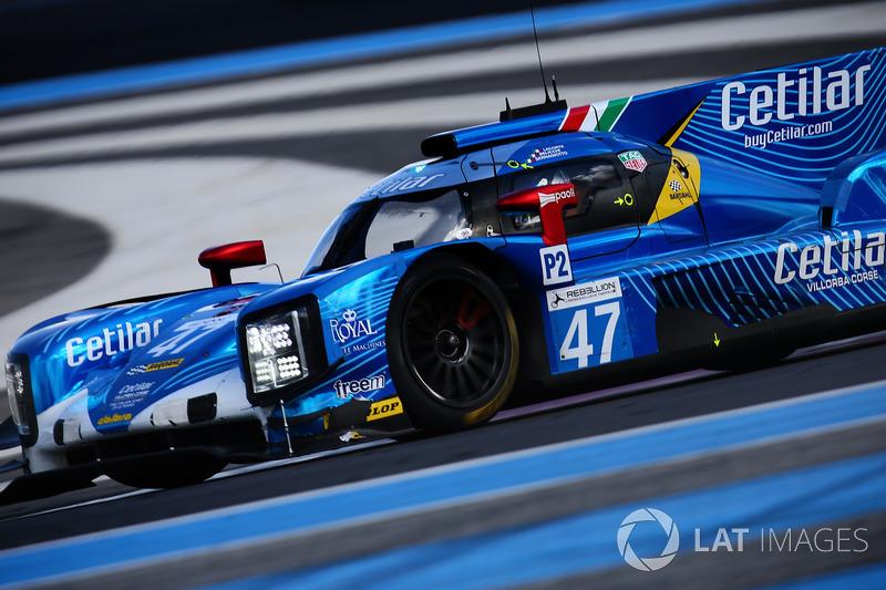 (LMP2) #47 Cetilar Villorba Corse Dallara P217 - Gibson: Roberto Lacorte, Giorgio Sernagiotto, Andrea Belicchi