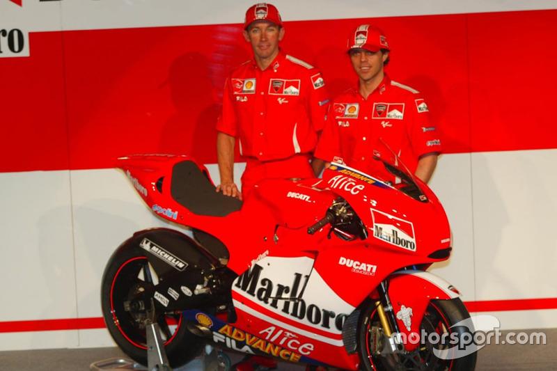 Troy Bayliss, Loris Capirossi, Ducati Desmosedici GP4