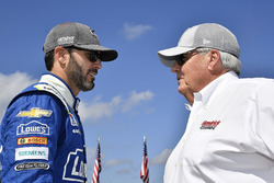 Jimmie Johnson, Hendrick Motorsports Chevrolet and Rick Hendrick
