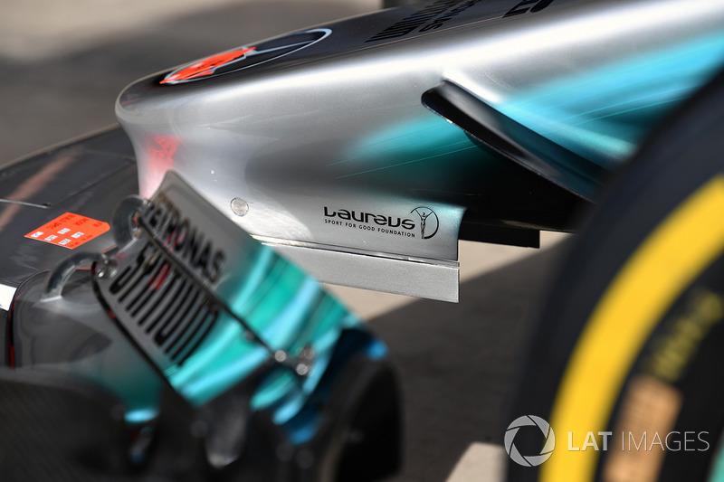 Nez de la Mercedes-Benz F1 W08