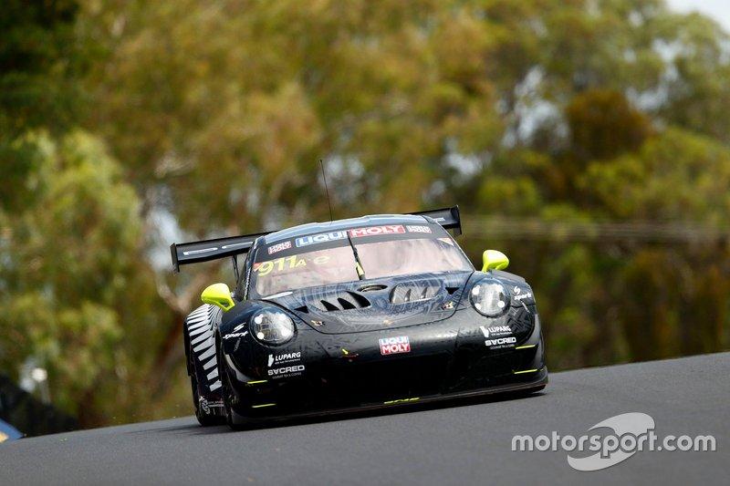 DNF: #911 EBM Porsche 911 GT3-R: Romain Dumas, Sven Müller, Mathieu Jaminet
