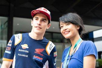Marc Marquez, Repsol Honda Team avec un fan