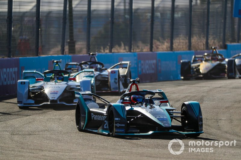 Mitch Evans, Jaguar Racing, Jaguar I-Type 3, Tom Dillmann, NIO Formula E Team, NIO Sport 004, Maximilian Günther, Dragon Racing, Penske EV-3