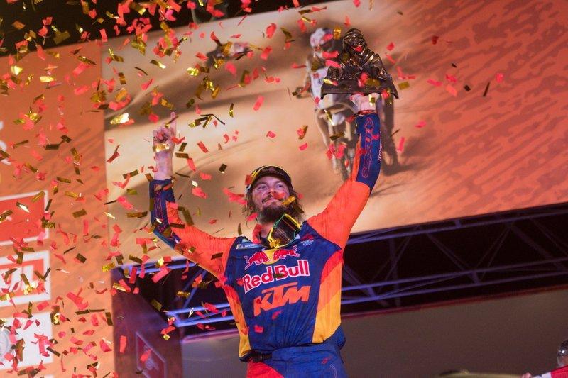 Подіум: #3 Red Bull KTM Factory Racing KTM: Тобі Прайс