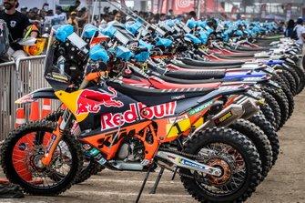 Red Bull KTM Factory Racing KTM's