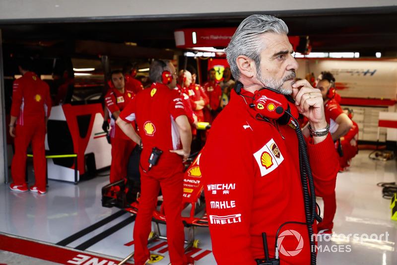 Maurizio Arrivabene, Director de Equipo, Ferrari