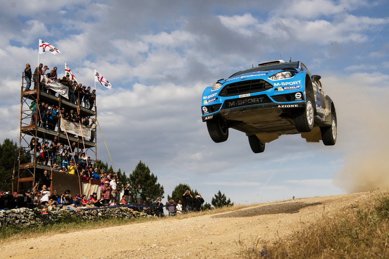 Mads Östberg, Ola Floene, M-Sport Ford Fiesta WRC