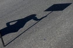Grid girl shadow